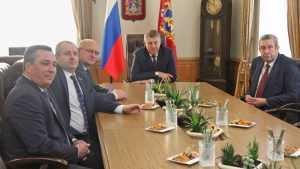 Белорусских депутатов поразили темпы развития брянского сельского хозяйства