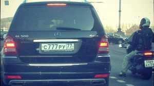 В России рассмотрят законопроект о продаже «красивых» автономеров