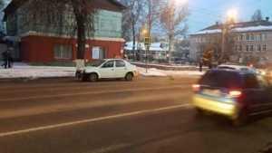 В Брянске полиция объявила о поиске свидетелей ДТП на улице Калинина