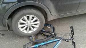 Молодая автомобилистка сбила велосипедистку около Суземки