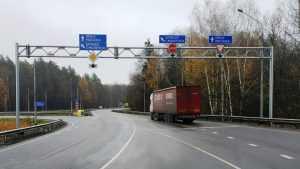 Завершен ремонт подъездной дороги к Брянску со стороны Карачева