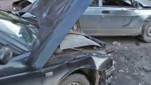В Клинцах столкнулись три автомобиля ВАЗ – пострадали два человека