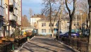 В Брянске завершили ремонт в двух дворах