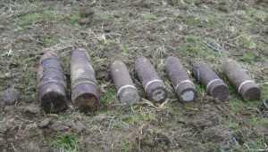 В Выгоничском районе обезвредили 17 снарядов времён войны