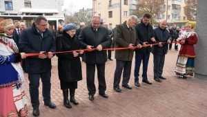 В Володарском районе Брянска в рамках партпроекта благоустроили сквер