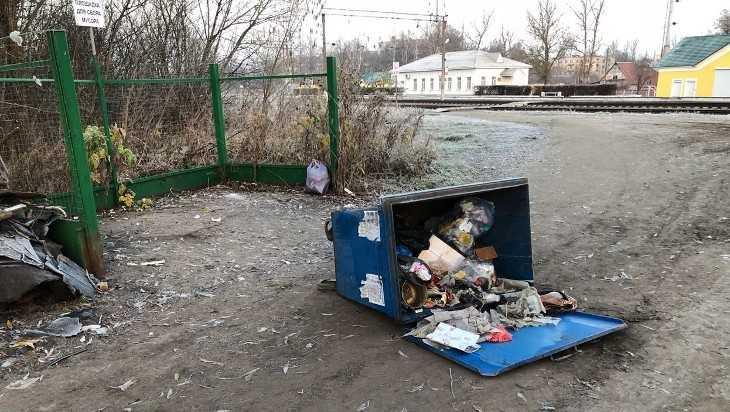В Белых Берегах завелись мусорные «барабашки»