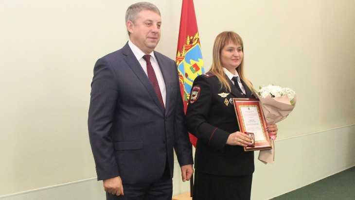 Губернатор Богомаз наградил лучших полицейских Брянской области