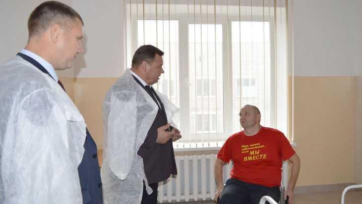 В новозыбковской больнице открыли паллиативное отделение