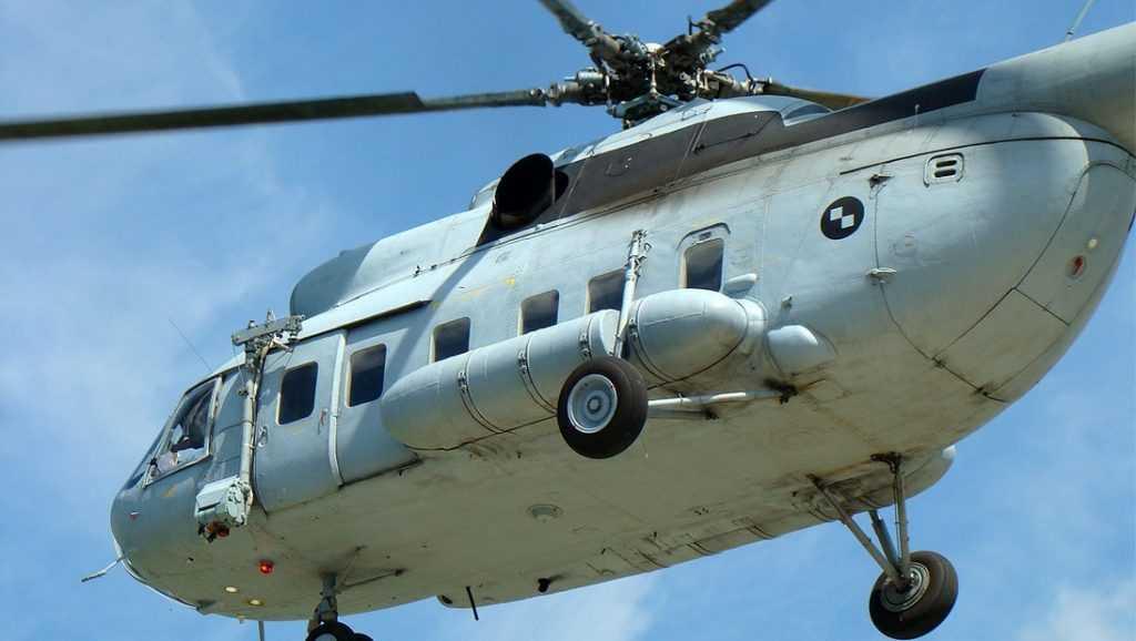 В Тверской области рухнул вертолет, летевший в Брянск