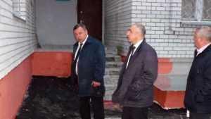Заместитель брянского губернатора Оборотов побывал в тубдиспансере