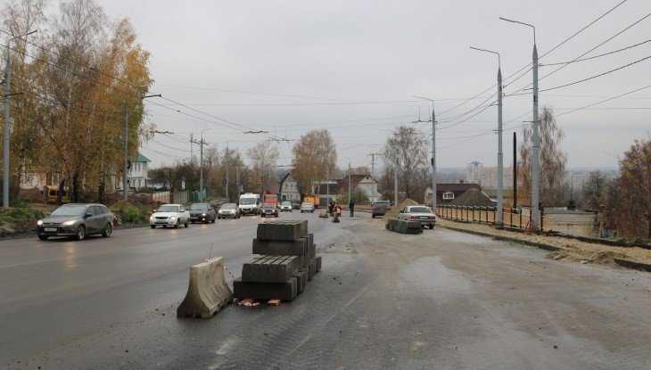 Дорогу на Городищенской горке в Брянске заасфальтируют до 7 ноября