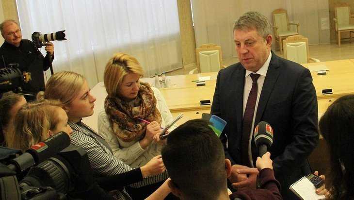 Брянский губернатор Богомаз ответил на вопросы белорусских журналистов