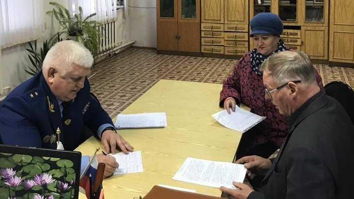 Жители Климова рассказали прокурору Брянской области о своих бедах