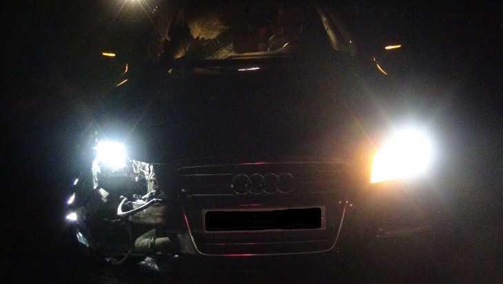В Брасовском районе ночью под колесами Audi A6 погиб пешеход