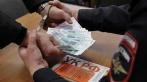 Брянца оштрафовали на 200 тысяч рублей за взятку полицейскому