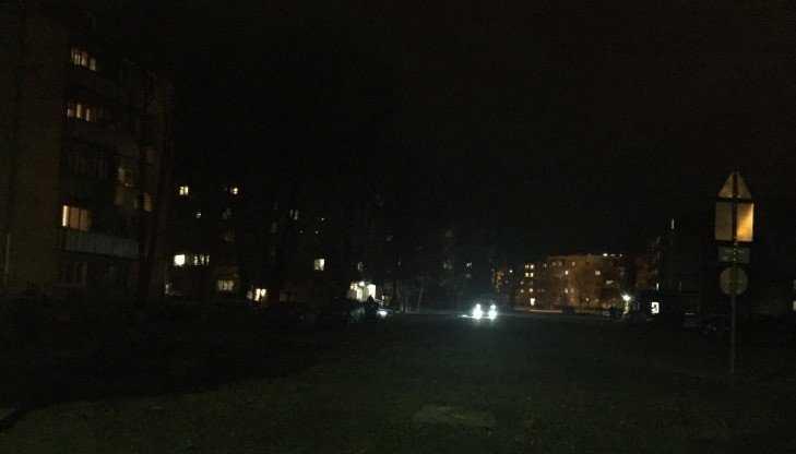 Жителя Брянска возмутил опасный мрак в Северном переулке