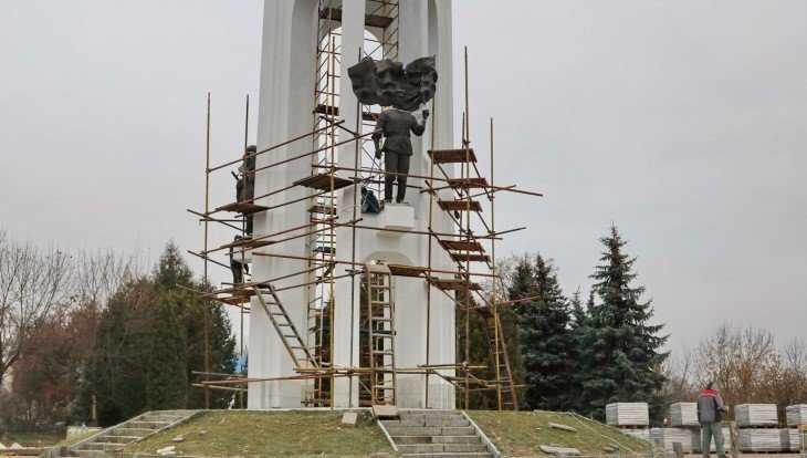 В Брянске ремонтные работы на Покровской горе завершат до 1 декабря