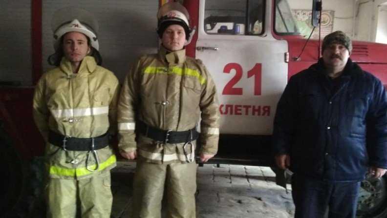 В Клетне пожарные вытащили из колодца мужчину