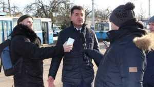 Глава Брянска Хлиманков оценил печальные пейзажи троллейбусного депо