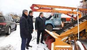 Вице-губернатор Александр Резунов нагрянул в заснеженные Клинцы