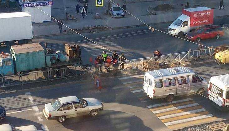 Жители Брянска опять возмутились перенесенным пешеходным переходом
