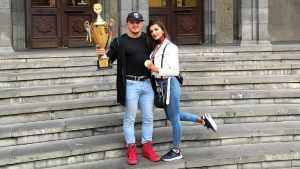 Брянская красавица стала чемпионкой Армении по фитнесу
