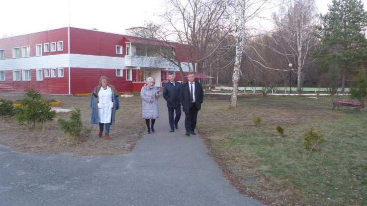 В Белобережском детском санатории появится новое водолечебное оборудование