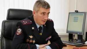 Полицейским представили нового начальника УМВД по Брянской области