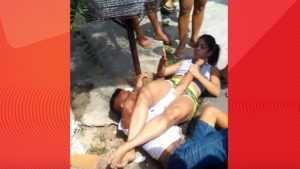 В сети опубликовали видео умелого задержания грабителя 22-летней девушкой
