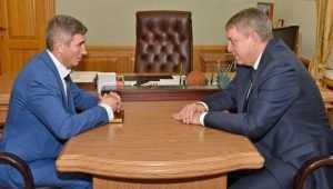 Брянский губернатор Богомаз провел первую встречу с начальником УМВД