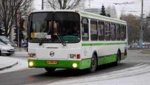 В Брянске 62-летняя пассажирка автобуса ЛиАЗ поранила пятку