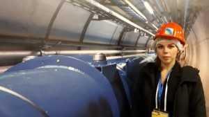 Брянская учительница физики побывала на Большом андронном коллайдере