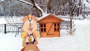 К Новому году в Брянске появились новые фотозоны