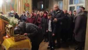 Мощи великомучеников доставили в Брянскую область с Украины