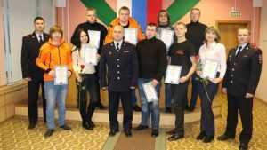 Брянская полиция поблагодарила волонтеров отряда «Лиза Алерт»
