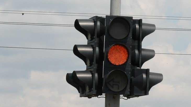 В Брянске на Авиационной улицы установили новые светофоры
