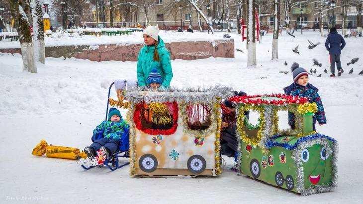В Брянске на конкурсе выбрали самые красивые «Чудо-сани»