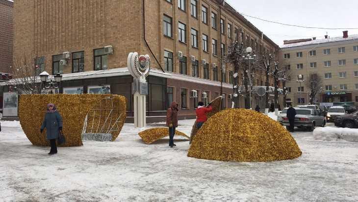 В Брянске установят еще один шар – золотой