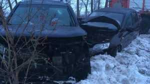 В Новозыбковском районе столкнулись ВАЗ и Volkswagen