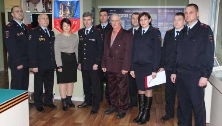 Начальник УМВД Толкунов в Дятьковском районе проверил работу полиции