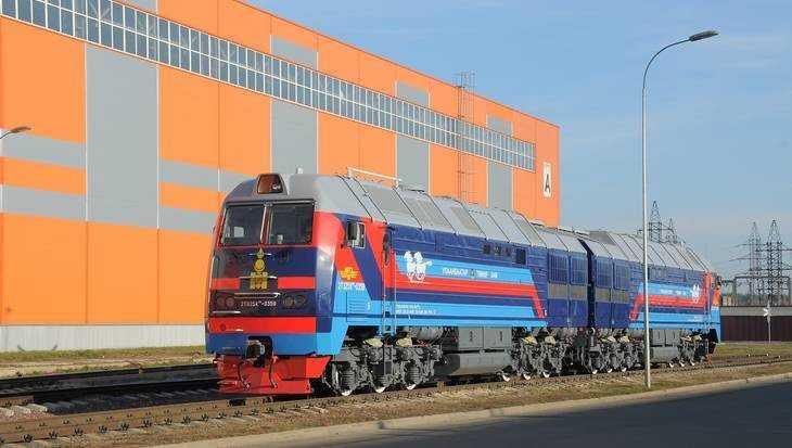 Трансмашхолдинг поставил в Монголию грузовые тепловозы 2ТЭ25КМ