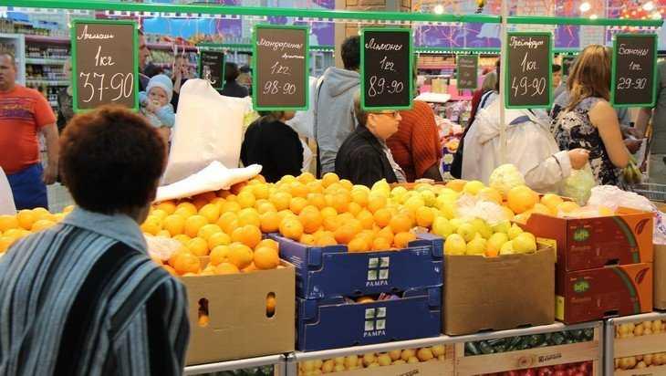 В Брянске снова резко подорожали яйца и мандарины