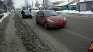В Брянске беременная автомобилистка после ДТП попала в больницу