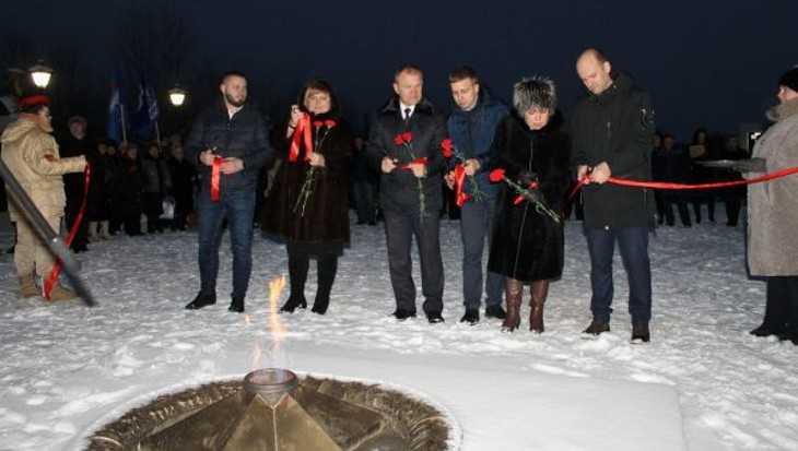 В Фокино открыли обновленный сквер Победы