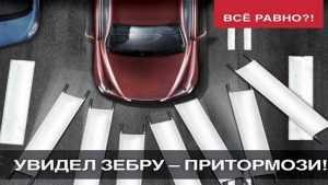 В Брянске водитель Kia сбил на «зебре» 26-летнюю женщину