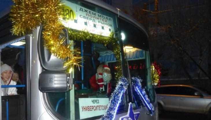 В новогоднюю ночь в Брянске будет ходить бесплатный транспорт