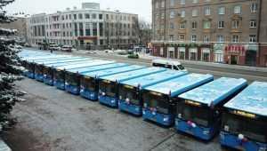 В Брянске автотранспортные предприятия получили 114 новых автобусов