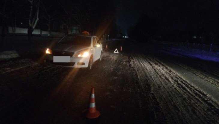 В Брянске водитель «Городского такси» сбил мужчину