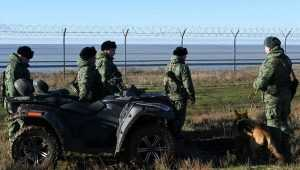 «Ищи, Сеня»: украинские пограничники не увидели заграждения в Крыму