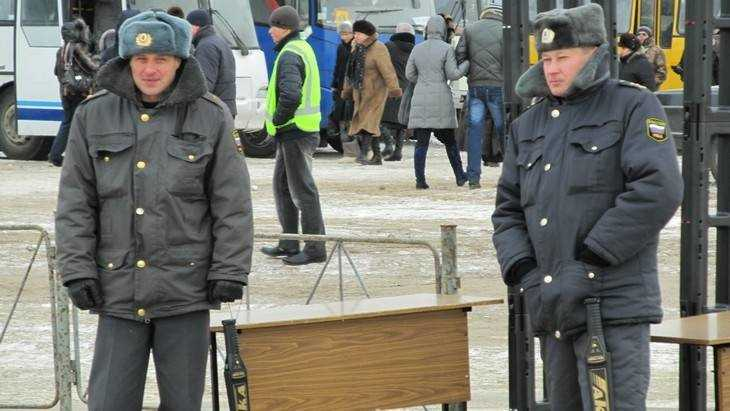 В Новый год безопасность брянцев будут охранять 2000 полицейских